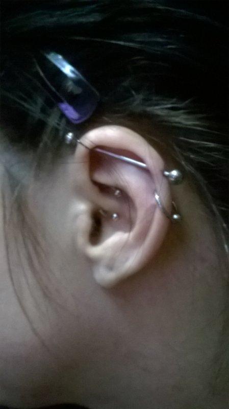 nouveaux piercings