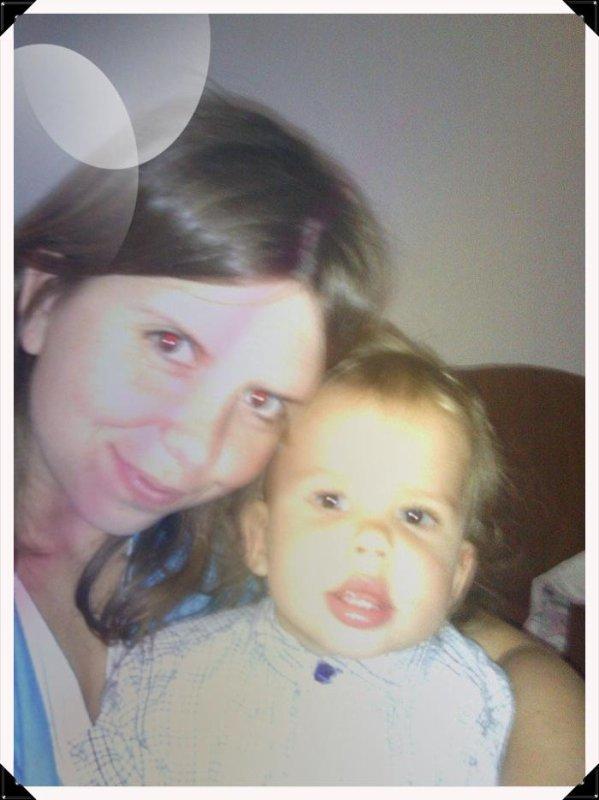 moi avec mon fils