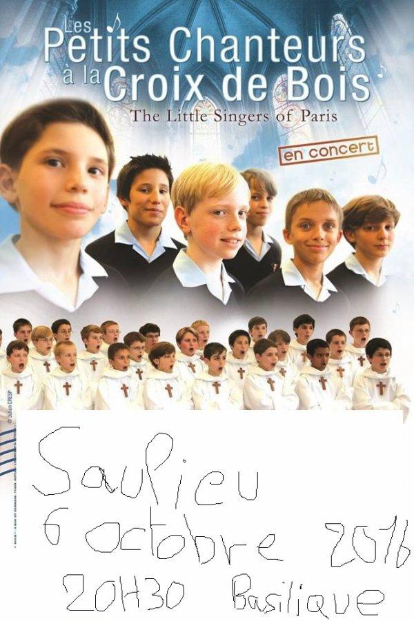 concert saulieu 6 octobre 2016