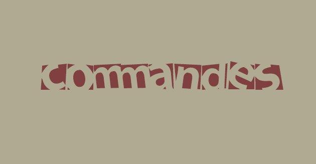 Commandes.