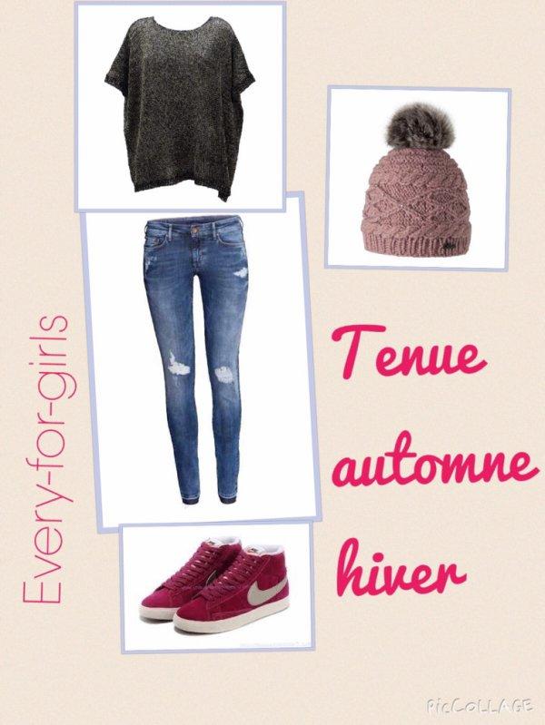 Tenues automnes/hiver