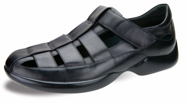 Aetrex Gramercy G220-Black and plantar fasciitis sandals