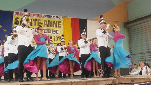 Sainte-Anne à Bricquebec (50) le 26 juillet 2015