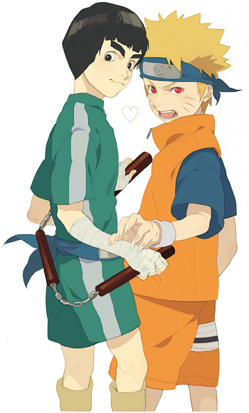 Lee et Naruto