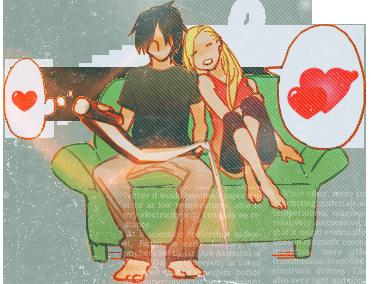 Sasuke et Ino.