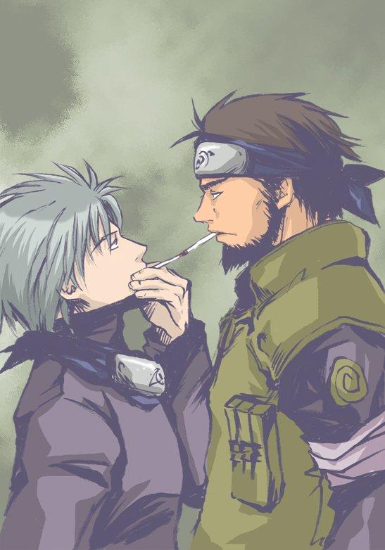 Kakashi et Asuma