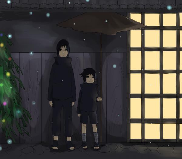 Itachi et Sasuke.