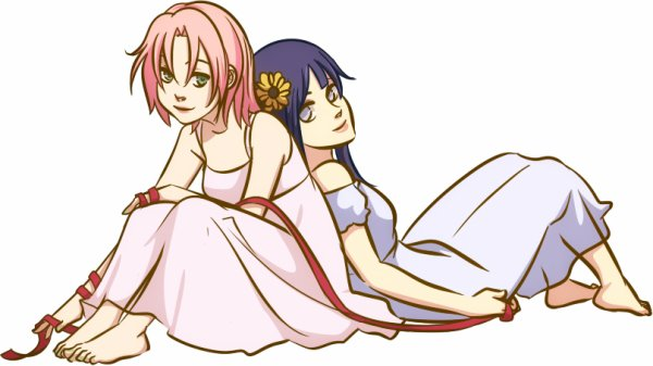 Sakura et Hinata