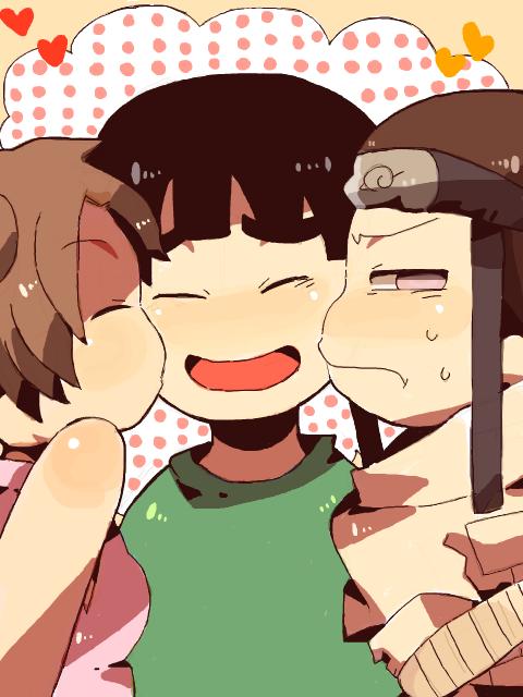 Tenten, Lee et Neji.
