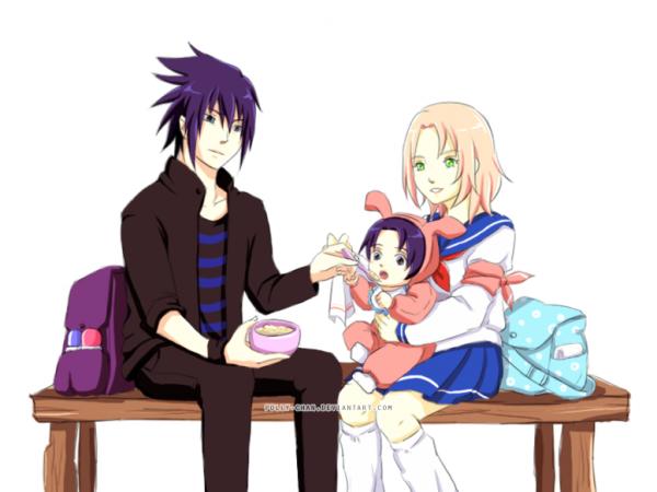 Sasuke x Sakura.