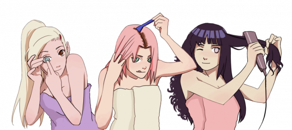 On connait maintenant la vraie couleur de cheveux à Sakura ! :)