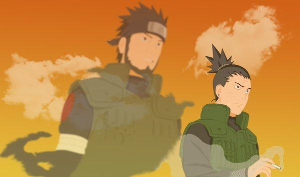 Asuma et Shikamaru.