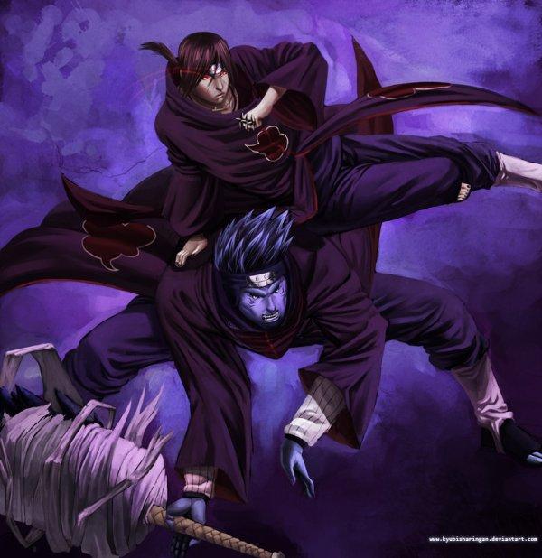 Itachi et Kisame.