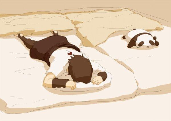 Sasuke x Panda.