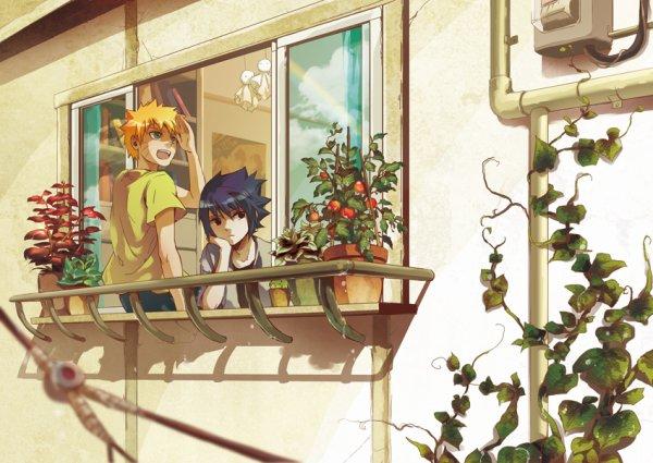 Naruto et Sasuke .