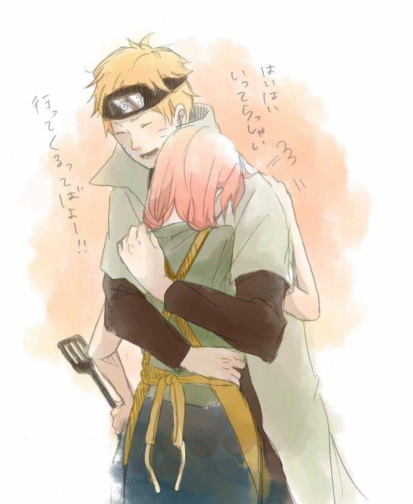 Sakura x Naruto .