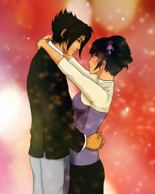 Sasuke x Hinata.