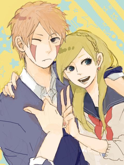 Kiba et Ino .