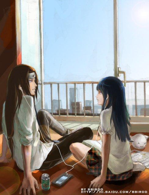 Neji et Hinata