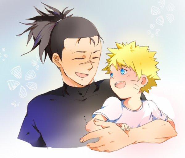 Iruka et Naruto