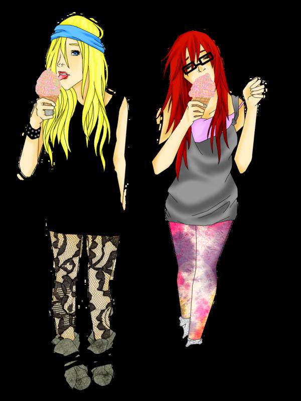 Ino et Karin.
