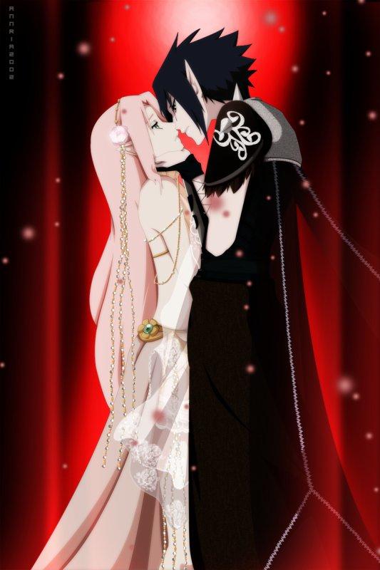 Sakura x Sasuke.