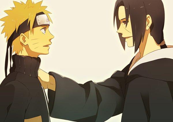 Naruto et Itachi.