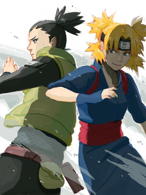 Temari et Shikamaru