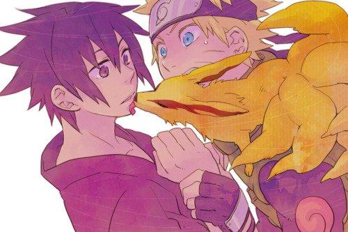 Sasuke x Naruto.