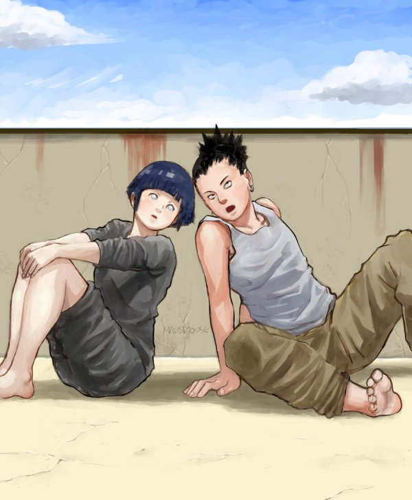 Hinata et Shikamaru.
