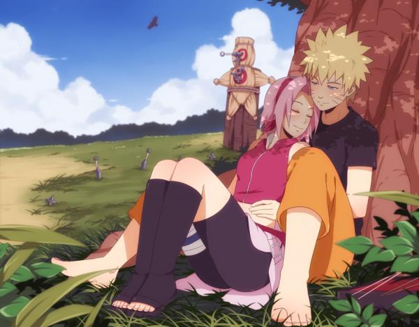 Sakura x Naruto.