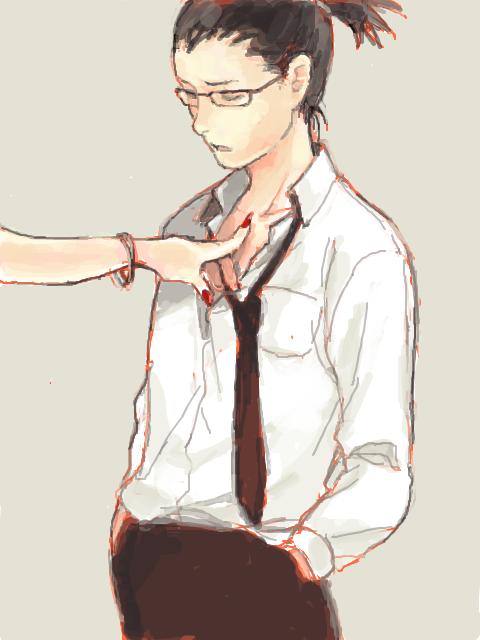 Shikamaru et main féminine. haha