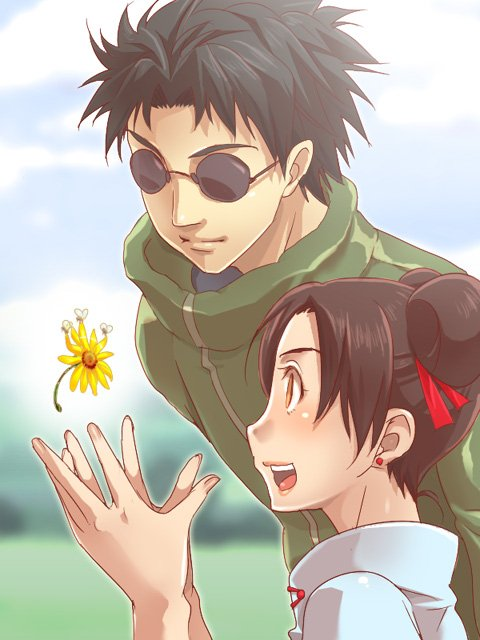 Shino et Tenten.