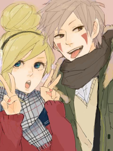 Ino et Kiba