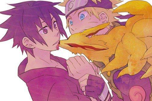 Sasuke Uchiwa et Naruto Uzumaki