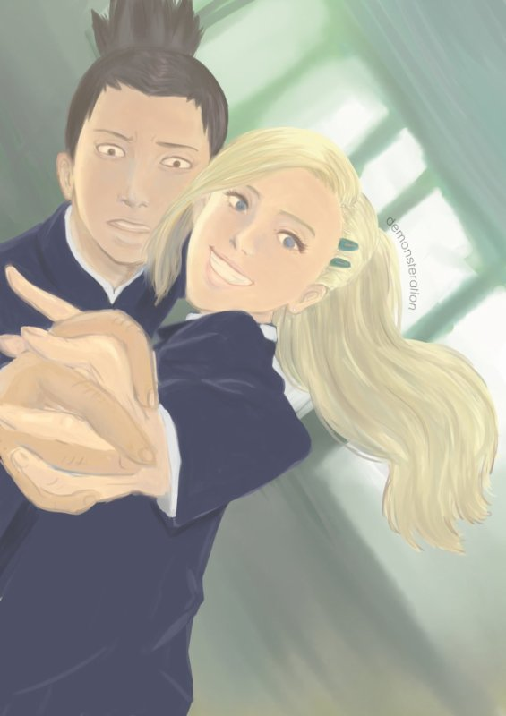Shikamaru et Ino