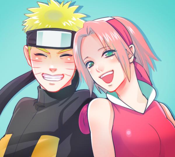 Naruto Uzumaki et Sakura Haruno
