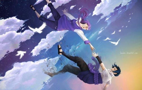 Hinata Hyûga x Sasuke Uchiwa