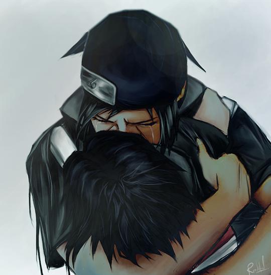 Itachi Uchiwa et Sasuke Uchiwa