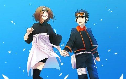 Rin et obito uchiwa