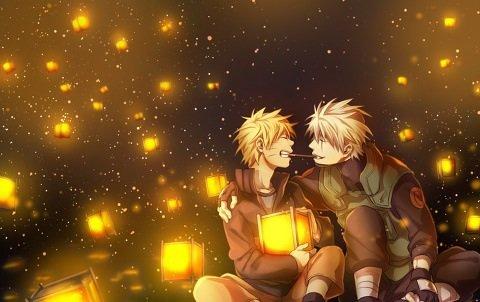Naruto Uzumaki et Kakashi Hatake