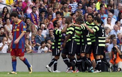 Dur dur ce week end défaite du Barça et le nul de l'om !