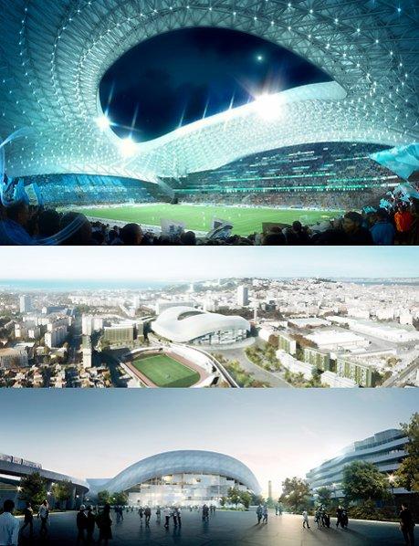 Le nouveau stade Vélodrome !