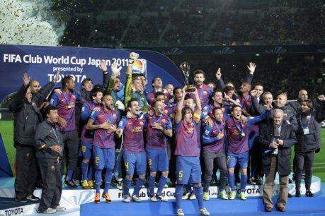 Le patron du football c'est le Barça !! Champion du monde des clubs !