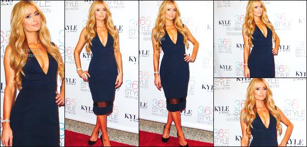 ------- 21/10/14:  La sublime Paris Hilton à l'événement de la sortie du livre de Nicky Hilton « 365 Style » - à New York.  J'adore beaucoup la robe sublime, elle lui va à ravie, tous comme le make up & sa coiffure. Elle est tellement belle sur toute les photos.   -------