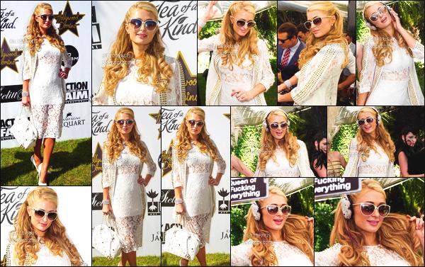 --------  17/05/15 : Miss Paris  Hilton photographié assistant à un événement pour soutenir le Népal - Cannes.   ● J'aime beaucoup cette tenue qui me fais à sa tenue lors d'une séance de dedicasse. J'adore trop. Elle a vraiment la classe Paris Hilton.  --------