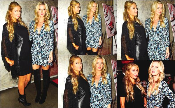 ------- 27/04/15: Sublime  Paris Hilton  photographiée  à l'événement « DuJour Magazine » dans la soirée -  à  Los Angeles. Paris été accompagnée de sa petite soeur Nicky. Elles sont toute belles toute les deux soeurs Hilton. Paris est vraiment classe et glamour.  -------
