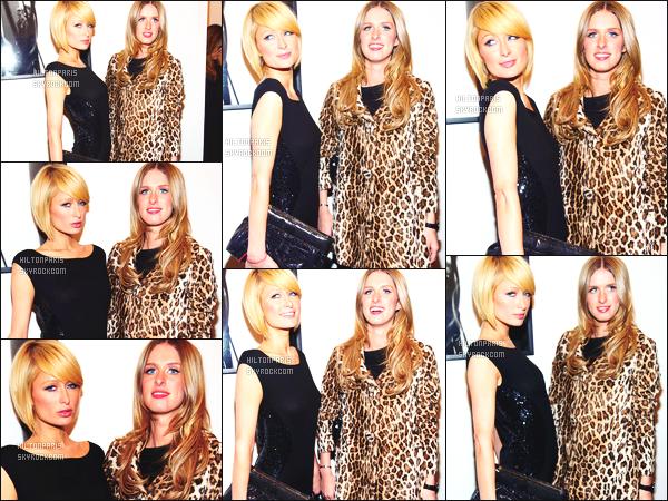 ------- 17/02/09: Paris  Hilton photographiée  à la soirée de la présentation de   Vladimir Restoin Roitfeld   - à  Los Angeles. Paris est toute belle dans cette tenue toute simple. Gros top pour sa pochette. Mlle Paris est accompagnée de sa petite soeur Nicky Hilton.   -------
