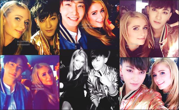 ---------  Découvrez les photos de Paris Hilton sur les réseaux sociaux lors de son voyage en Chine.  Vous pouvez la suivre en directe sur son Snapchat ~ RealParisHilton. Aussi dans cet article les photos de fans avec notre Paris Hilton.  ---------