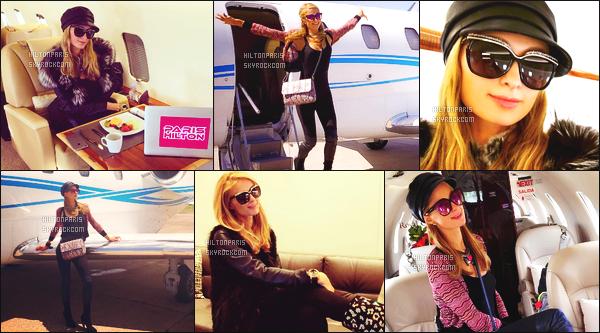 --------  20/11/15 :  Mademoiselle Paris H. photographié dans la journée devant son jet privée quittant Paraguay.  Tous pleins de photos posté sur son compte Instagram. Paris est trop mignonne sur les photos, elle semble être heureuse, c'est adorable.  --------